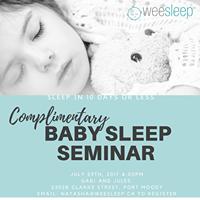 Complementary Sleep Seminar