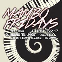 Mambo Fridays 922 Guest List