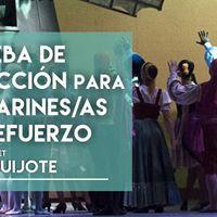 Seleccin de bailarines de refuerzo para &quotDon Quijote&quot