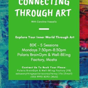Connecting Through Art Workshop Mondays 730pm
