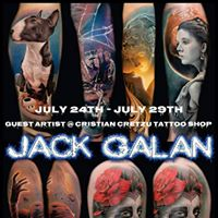 Special Guest JACK GALAN Bucuresti
