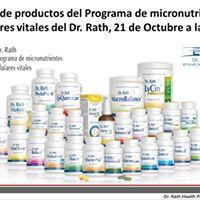 Sbados de salud Coliseum Taller de productos Dr.Rath Programs.