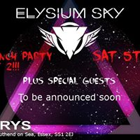 Party number 2 with Elysium Sky support TBA