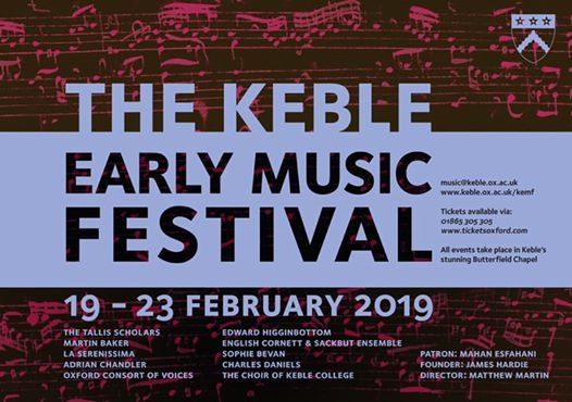 Monteverdi VespersKeble Early Music Festival