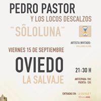 Pedro Pastor en Oviedo con Los Locos Descalzos. SoloLuna.