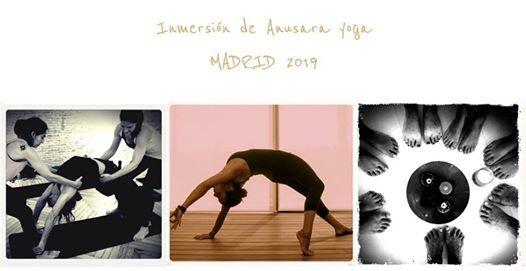 Inmersin de Anusara Yoga en Madrid 2019