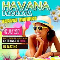 Havana Bachata - Summer Edition  Gratis Entree