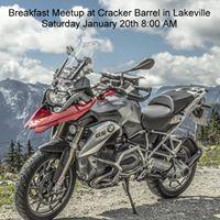 Breakfast Meetup at Cracker Barrel in Lakeville