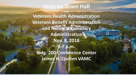 Veterans Town Hall At James H Quillen Va Medical Center Mountain