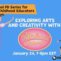 Exploring Arts &amp Creativity with Pinkalicious &amp Peterrific