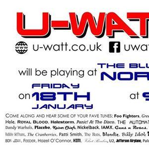 U-Watt rockin return to The Blueberry