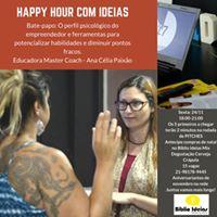 Happy Hour com ideias Perfil Psicolgico do Empreendedor