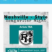Songwriter Night - Keene NH ( Nashville Style Rounds) All genres