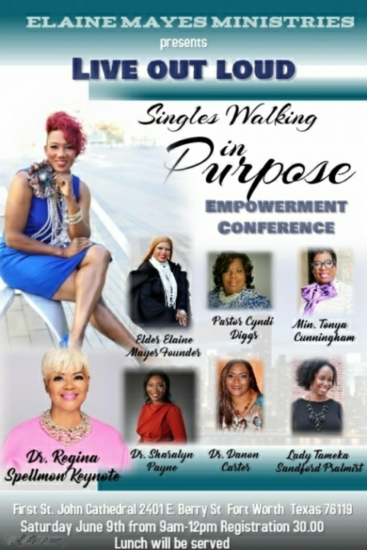 Singles Walking in Purpose