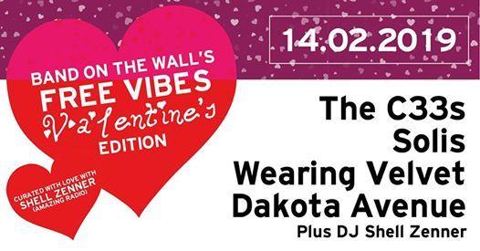 Free Valentines The C33s Solis Wearing Velvet  Dakota Avenue
