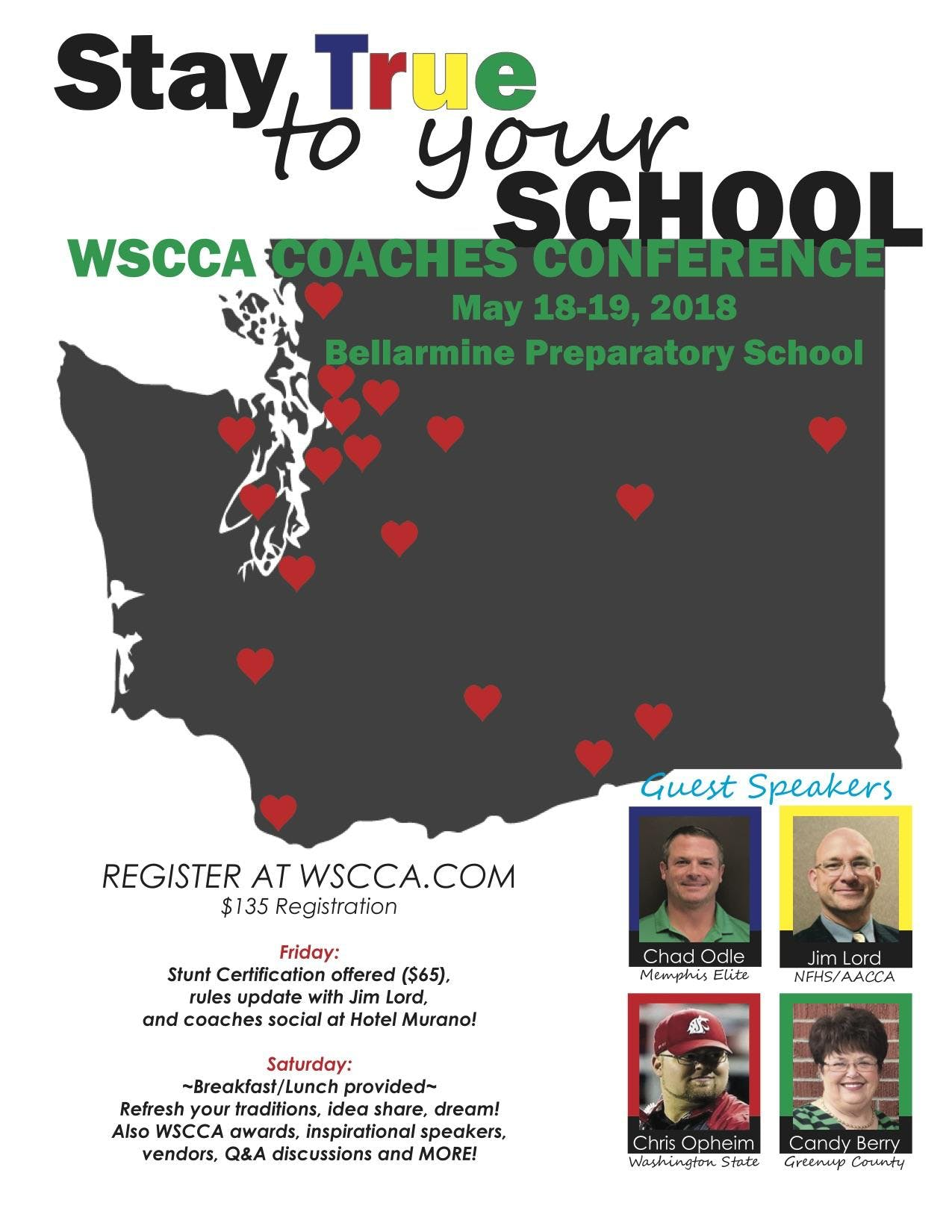 2018 Wscca Annual Conference At Bellarmine Prep School Tacoma