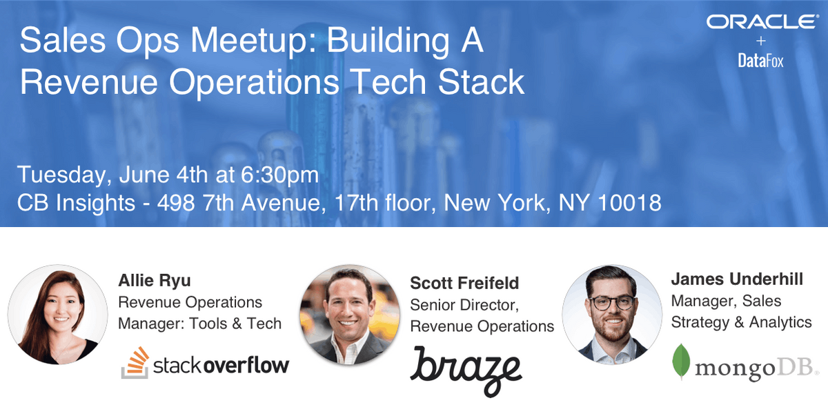 Sales Ops Meetup: Building A Revenue Operations Tech Stack