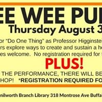Pee Wee Puppets &amp Puppet Making Workshop
