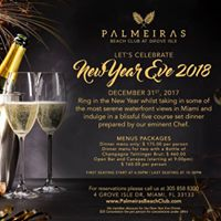 Exclusive New Years Eve Dinner Party at Palmeiras Beach Club