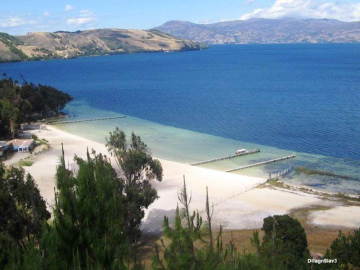 camping lago de tota / playa blanca | aquitania