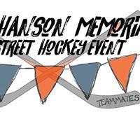 Tyler Hanson Memorial Street Hockey Event - 2017