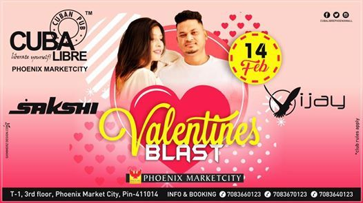Valentines Blast Ft.Dj Vijay & Dj Sakshi