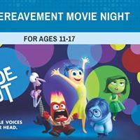 Teen Bereavement Movie Night