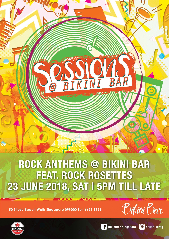LIVE Rock Sessions at Bikini Bar