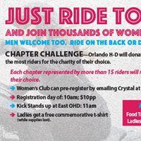 International Female Ride Day- Ride &amp Celebration