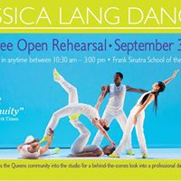 Jessica Lang Dance presents Fall Open Rehearsal
