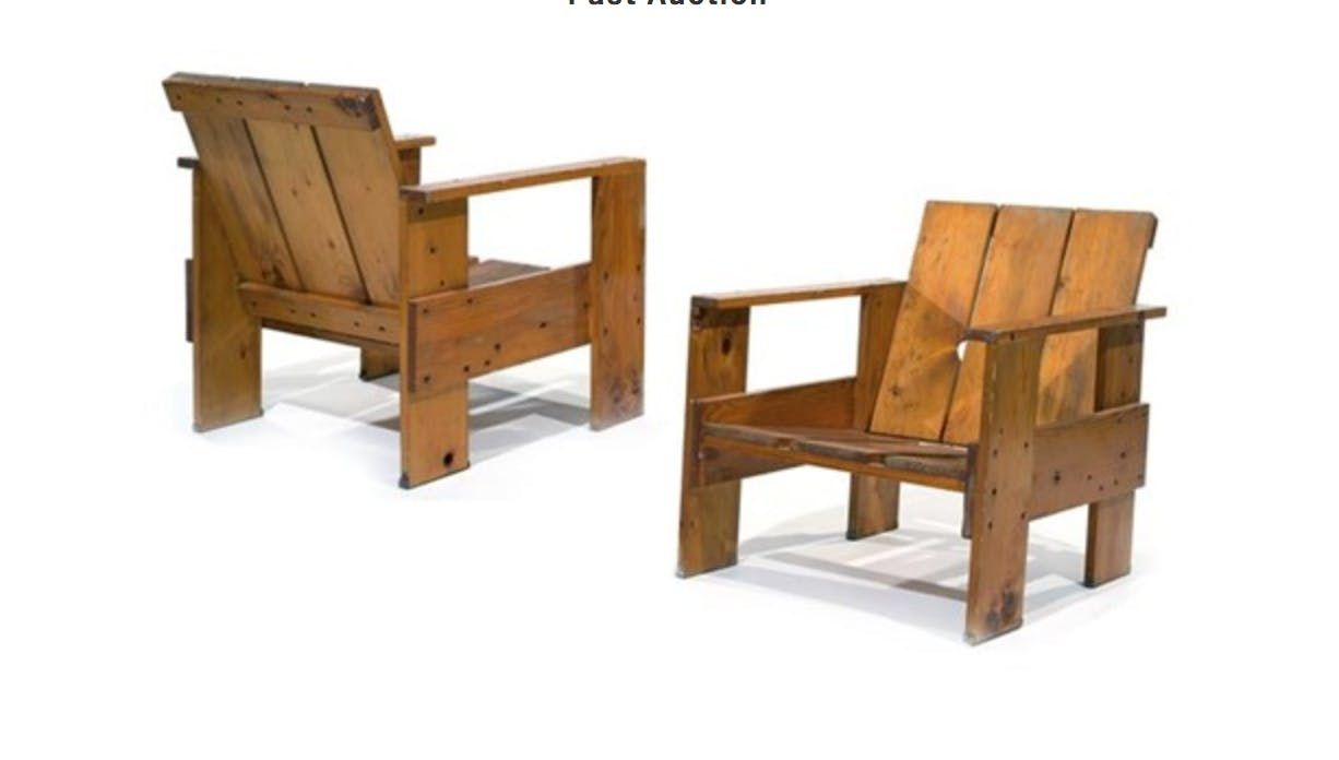 Make It Take It Class: Gerrit Rietveld Crate Chair At ReBuilding Exchange,  Chicago