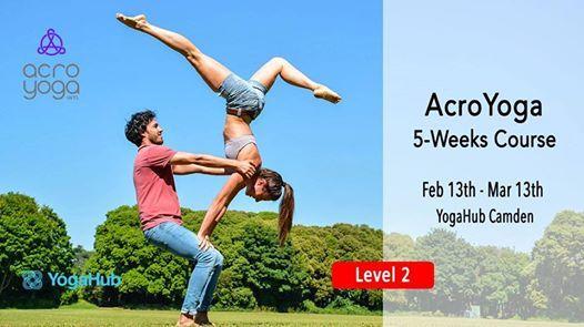 5-Week Level II AcroYoga Course with Giulia