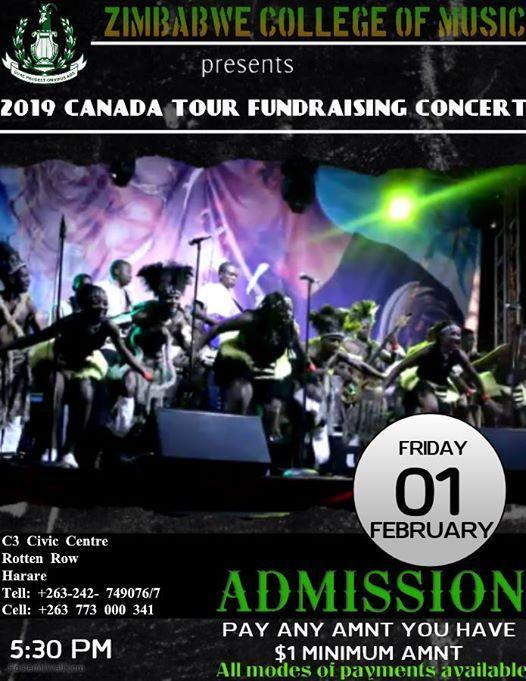 2019 Canada Tour Fundraising Concert