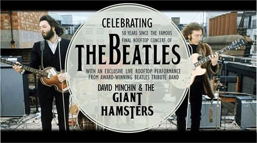 Beatles Rooftop Tribute - with The Giant Hamsters - Sold Out