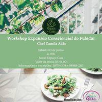 Workshop Expanso Consciencial do Paladar