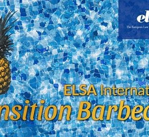 ELSA International Transition Barbecue 2018