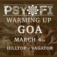 Psy Fi Warming up At HillTop Goa - 4th March 2018