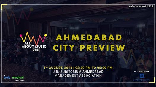 All About Music 2018 - Ahmedabad Preview