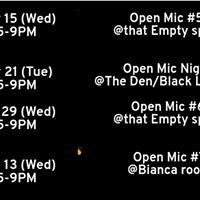 Open Mic 6