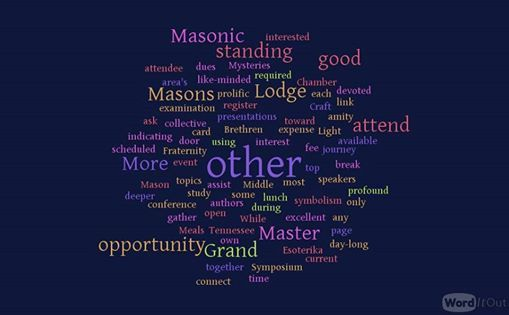 The Middle Chamber: A Symposium on Masonic Esoterika at Tennessee