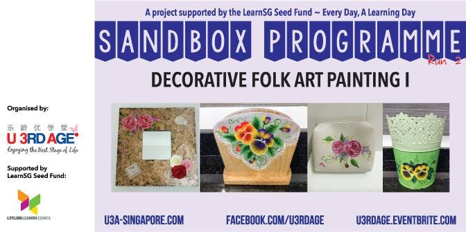 Decorative Folk Art Painting I - Jul Tue 2pm