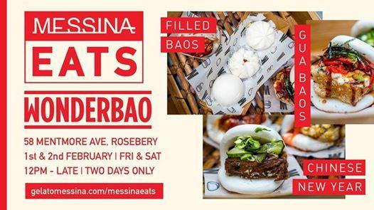 Messina Eats Wonderbao  Chinese New Year