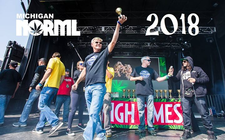 Michigan NORML at the High Times Cannabis Cup