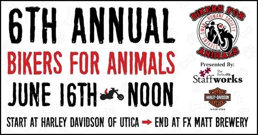 6th Annual Bikers for Animals