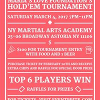 Marias Love Foundations Holdem Tournament