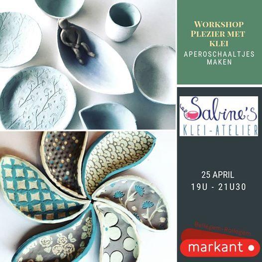 Creatief Met Klei.Workshop Creatief Met Klei Aperoschaaltjes Maken At Sabines