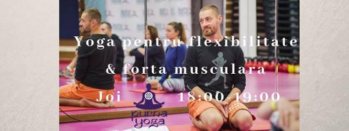 Yoga pentru flexibilitate & forta musculara cu Stefan Nicolaescu