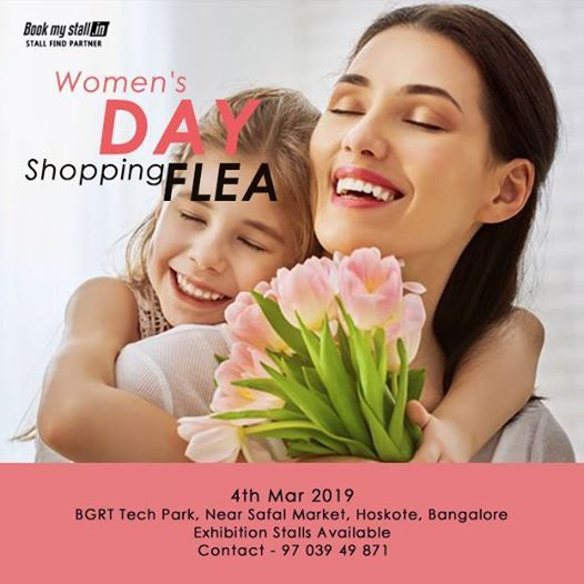 WomenS Day Shopping Flea in Bangalore - BookMyStall