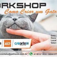 Workshop Como Criar Um Gato Feliz