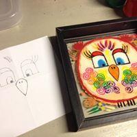 Workshop Uilen schilderen op glas